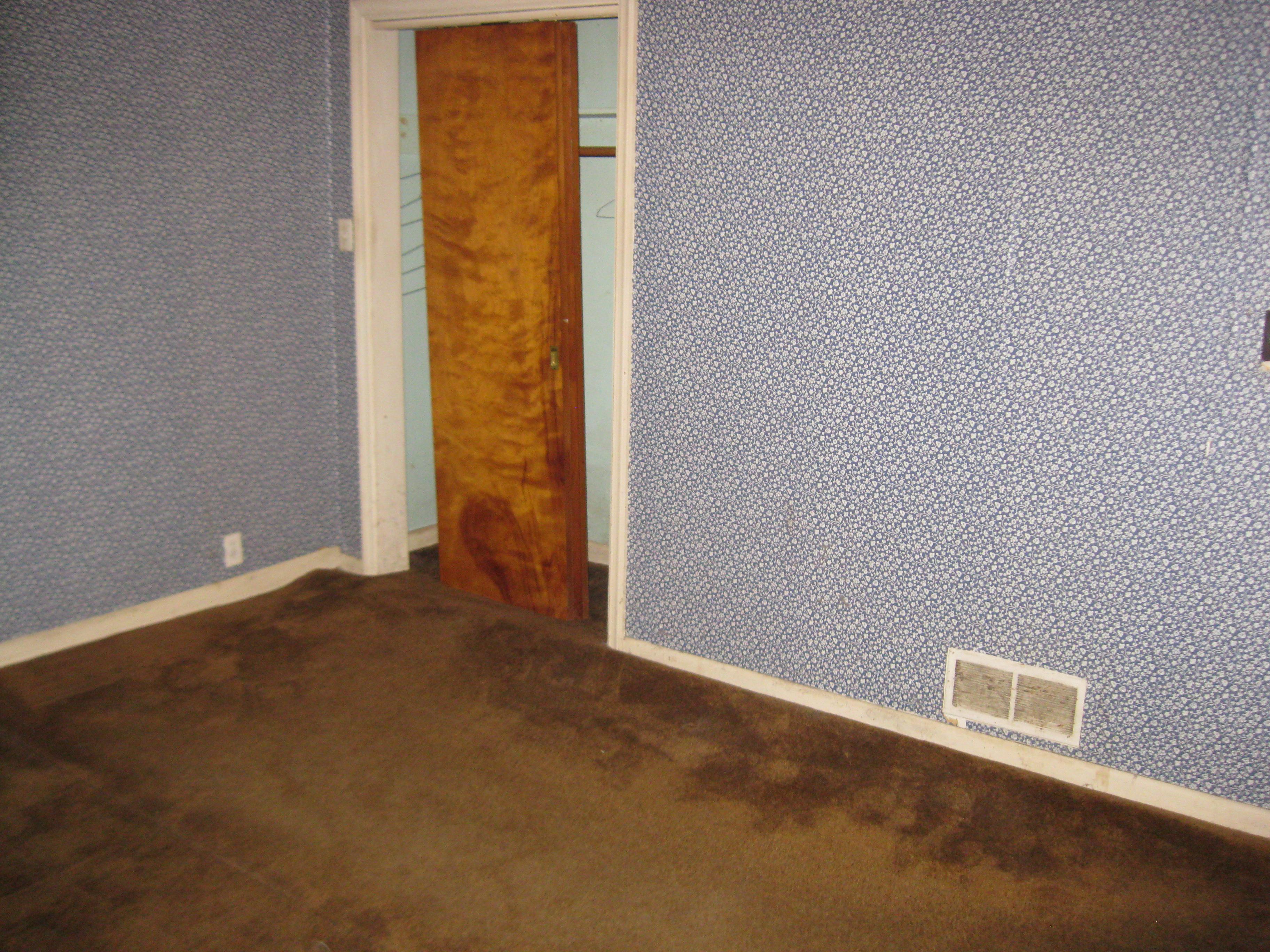 Littleton Rehab Chronicles - Before - Floor Buckling
