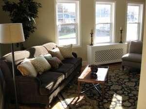 Dedham, MA after rehab livingroom